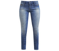 ADRIANA Jeans Slim Fit green indigo glam stretch