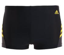 INSPIRATION - Badehosen Pants - black/bright yellow