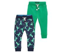 2 PACK Jogginghose green