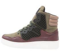 BALLER HIGH TOP Sneaker high burgundy