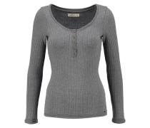 MUSTHAVE Langarmshirt grey