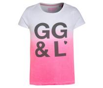 MIAMI - T-Shirt print - bright pink