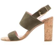 TANG - High Heel Sandaletten - antesand caper/natural