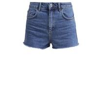 MOM Jeans Shorts mid denim