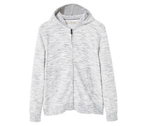 JAN Sweatjacke light heather grey