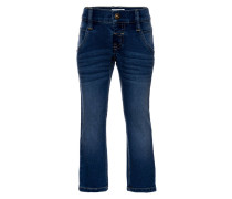 NITALEXI - Jeans Straight Leg - dark blue denim