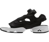 INSTAPUMP FURY Sneaker low black/white/gold metallic