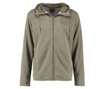 TONGARI Sweatjacke burnt olive