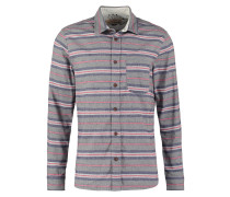 RIDING STRAIGHT FIT Hemd gris chine