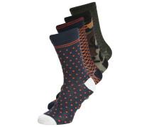 JACFIBERS 4 PACK Socken navy blazer