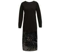 Jerseykleid cinder black