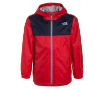 ZIPLINE Regenjacke / wasserabweisende Jacke high risk red
