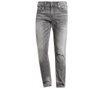 ROCCO Jeans Straight Leg worn concrete