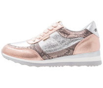 Sneaker low - feni rosa/serpio rosa/crack plata