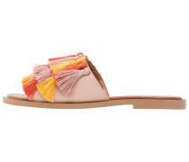 ALBINONI - Pantolette flach - pink/yellow