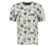 FREDRYK - T-Shirt print - dark white