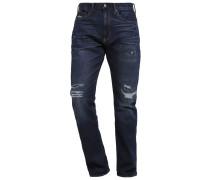 SLIM FIT Jeans Straight Leg indigo repair