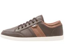 KUNZO Sneaker low dark brown/brown