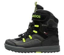 ADRIAN - Snowboot / Winterstiefel - black/lime