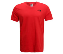 SIMPLE DOME - T-Shirt basic - red