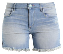 MONROE - Jeans Shorts - premium ultra light blue wash