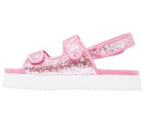 DAMARA - Plateausandalette - pink glitter