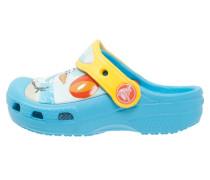 OLAF Pantolette flach electric blue
