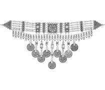 Halskette silvercoloured