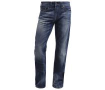 GENO Jeans Slim Fit destroyed denim