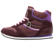 Sneaker high bordeaux