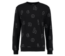 LETTER - Sweatshirt - black