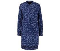 WOVEN DRESS - Blusenkleid - deep indigo