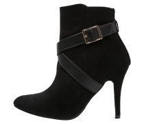 High Heel Stiefelette dark