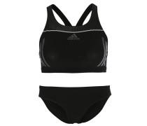 STREAMLINE Bikini black/silver