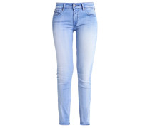 LUZ Jeans Slim Fit blue denim