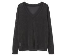 LUXY Strickpullover black