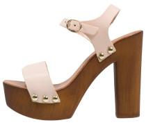 High Heel Sandaletten pink