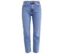 HIGH RISE STRAIGHT ANKLE - Jeans Slim Fit - vintage light