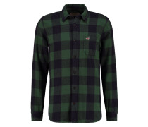 XMAS Hemd green/black