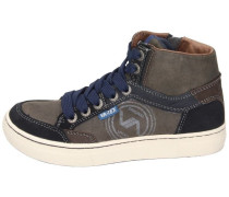 Sneaker high navy