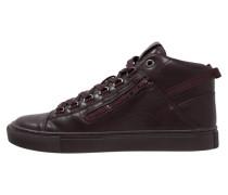 Sneaker high burgundy