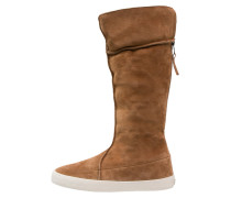 DANCE Stiefel cognac/offwhite