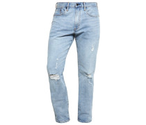 Jeans Straight Leg vintage light destroy