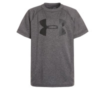 TShirt print carbon heather/black