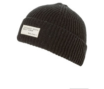 NICHOLSON Mütze black melange