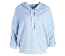 Sweatshirt - blau melange