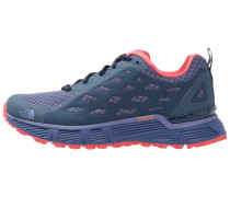 ENDURUS TR - Laufschuh Trail - coastal fjord blue/cayenne red