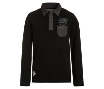 GOZER Poloshirt reactive black
