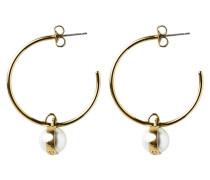 MIAM Ohrringe shiny goldcoloured