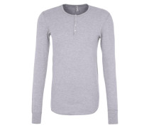 BABY THERMAL Langarmshirt heather grey